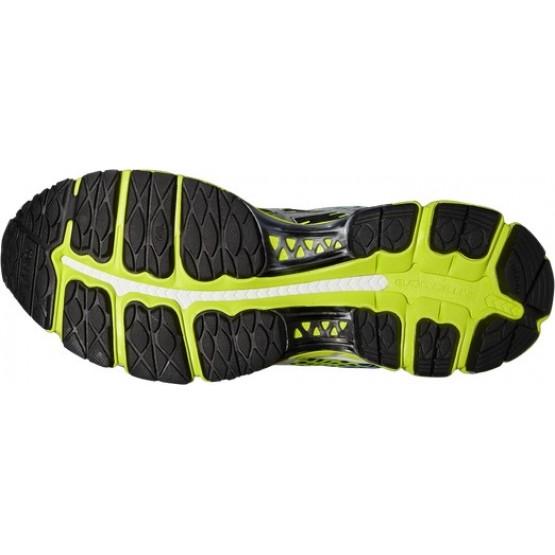 Кроссовки ASICS Gel-Nimbus 17 черно-желтые мужские
