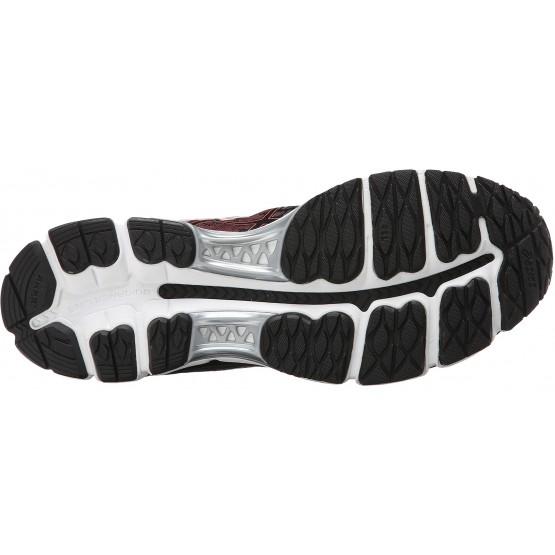 Кроссовки ASICS Gel-Nimbus 17 черно-бордовые мужские