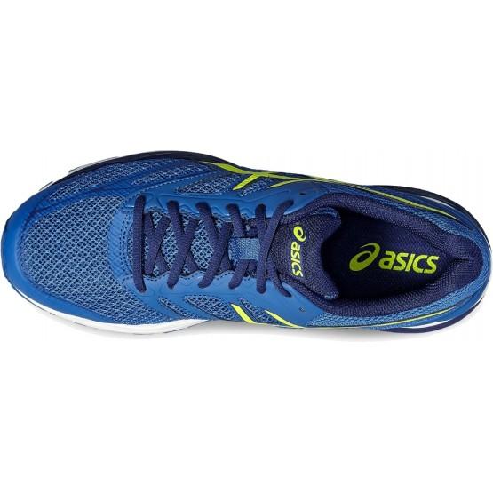 Кроссовки ASICS Gel-Pulse 8 сине-желтые мужские