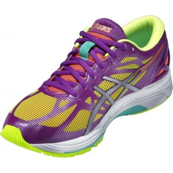 Кроссовки ASICS Gel-Ds Trainer 20 желто-фиолетовые женские
