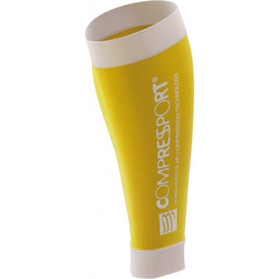 Гетры Compressport R2 (Race & Recovery) желтые