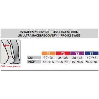 Гетры Compressport R2 (Race & Recovery) белые