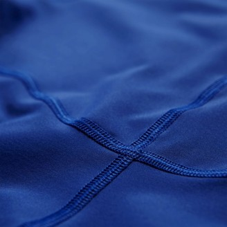 Футболка ASICS IM 1/2 Zip Top синяя мужская