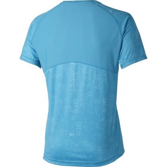 Футболка ASICS Short-Sleeve Graphic Top голубая мужская