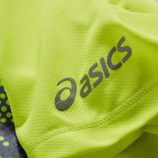 Футболка ASICS Short Sleeve T-Shirt желтая мужская