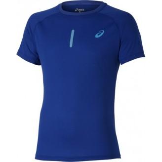 Футболка ASICS Short-Sleeve Top синяя мужская