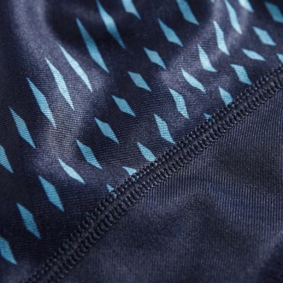 Футболка ASICS Short-Sleeve Top темно-синяя мужская