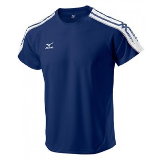 Футболка Mizuno Tee 201 темно-синяя мужская