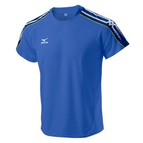 Футболка Mizuno Tee 201 синяя мужская