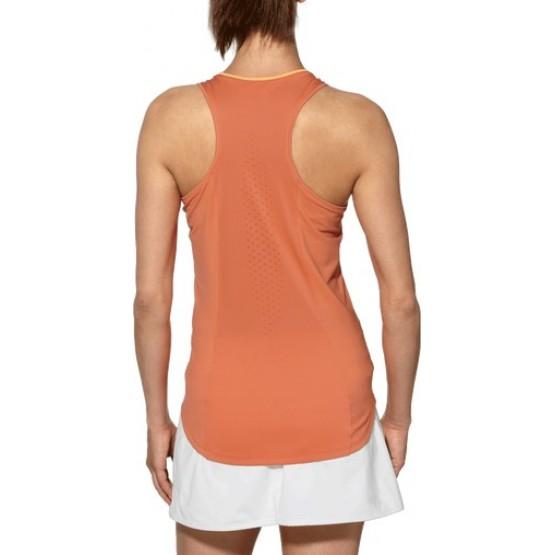 Футболка ASICS Athlete Tank Top темно-оранжевая женская