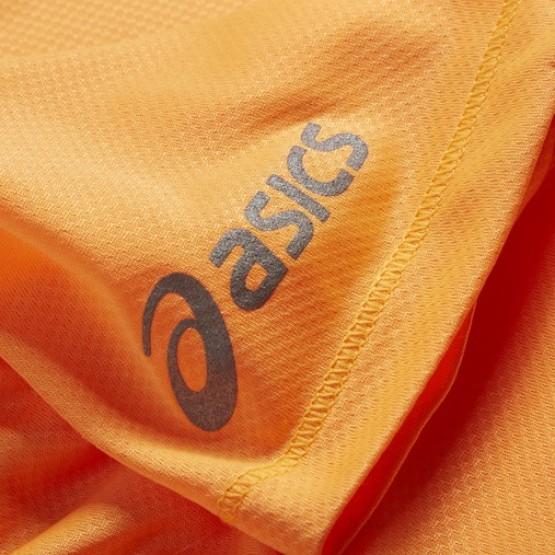 Футболка ASICS Short Sleeve T-Shirt оранжевая женская