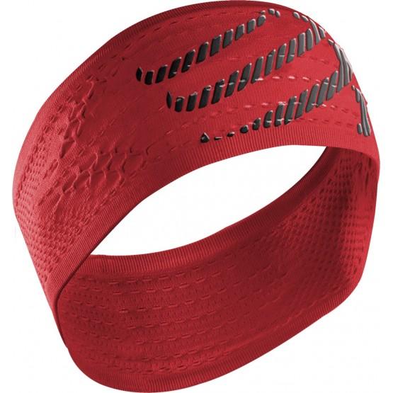 Повязка Compressport Headband On/Off красная