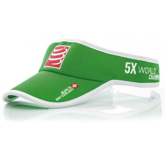 Визор Compressport Visor зеленый