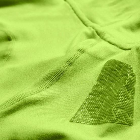 Толстовка ASICS Fujitrail Hoodie светло-зеленая мужская