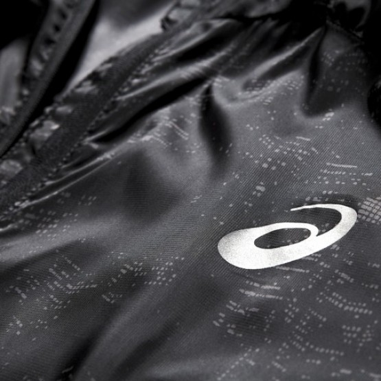 Ветровка ASICS Lightweight Jacket черная мужская