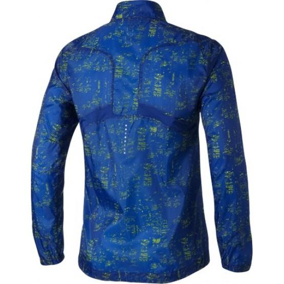 Ветровка ASICS Lightweight Jacket синяя мужская