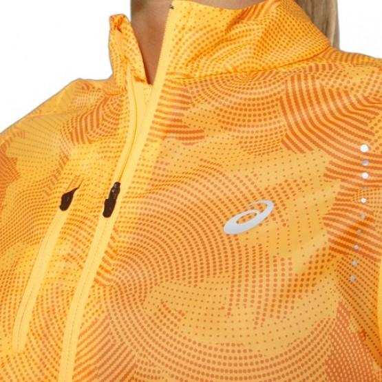 Ветровка ASICS Lightweight Jacket оранжевая женская