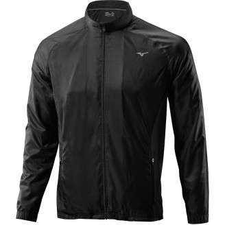 Куртка Mizuno Breath Thermo Jacket черная мужская