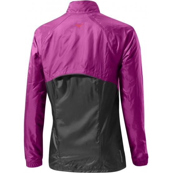 Куртка Mizuno Breath Thermo Jacket фиолетовая женская