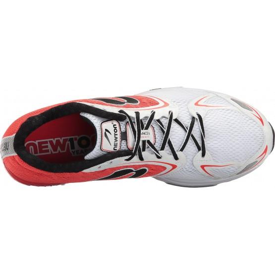 Кроссовки Newton Men's Distance VI красно-белые мужские