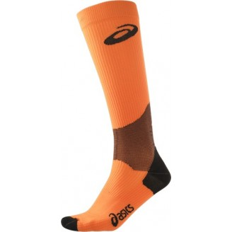 Гольфы ASICS Compression Sock оранжевые