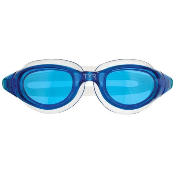 Очки для плавания TYR Technoflex 4.0голубые