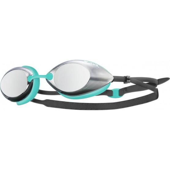 Очки для плавания TYR Tracer Racing Mirrored дымчато-бирюзовые