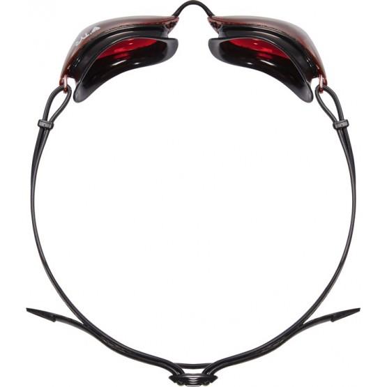 Очки для плавания TYR Tracer Racing Mirrored красно-серебристые