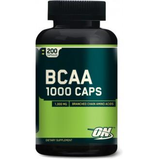 Bcaa в капсулах (200 шт.) Optimum Nutrition BCAA 1000