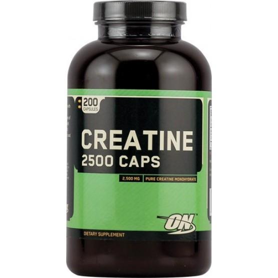 Креатин (200 капсул) Optimum Nutrition Creatine 2500 Caps