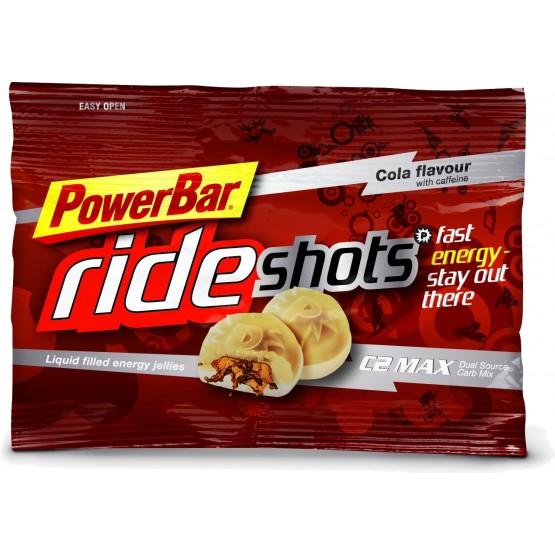 Энергетичекий мармелад + кофеин при циклических нагрузках PowerBar RideShots caffeine