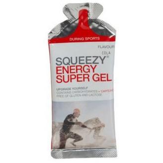 Углеводный гель с кофеином Squeezy Energy Super Gel