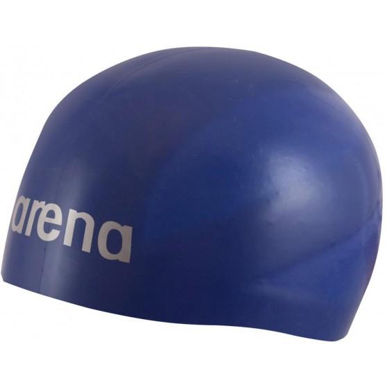 Шапочка для плавания Arena 3D Ultra темно-синяя
