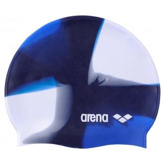 Шапочка для плавания Arena Pop Art Cap бело-синяя