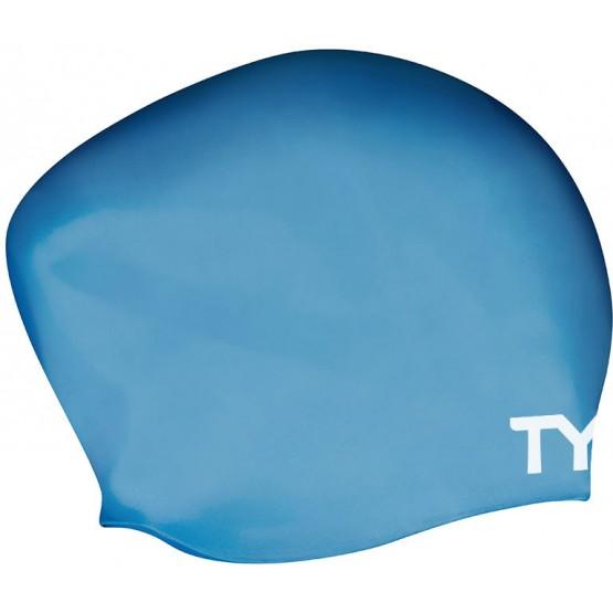 Шапочка для плавания TYR Long Hair Wrinkle Free Silicone Cap