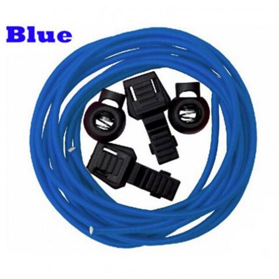 Шнурки Running Triathlon ShoeLace для бега и триатлона синие