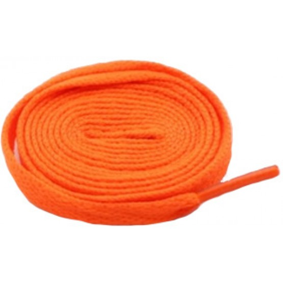 Шнурки Sports Color флуоресцентные оранжевые