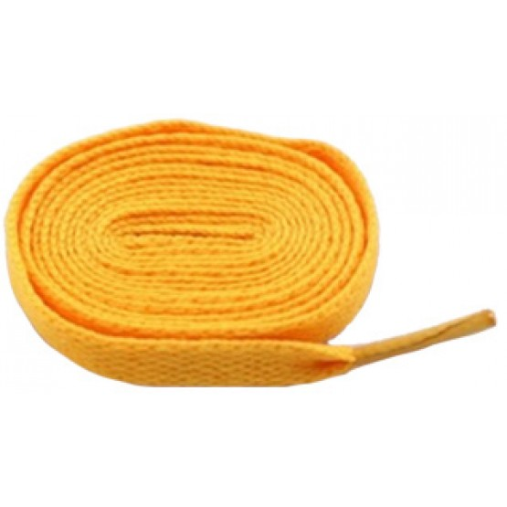 Шнурки Sports Color флуоресцентные светло-оранжевые