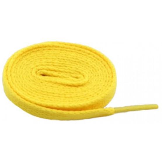 Шнурки Sports Color флуоресцентные желтые