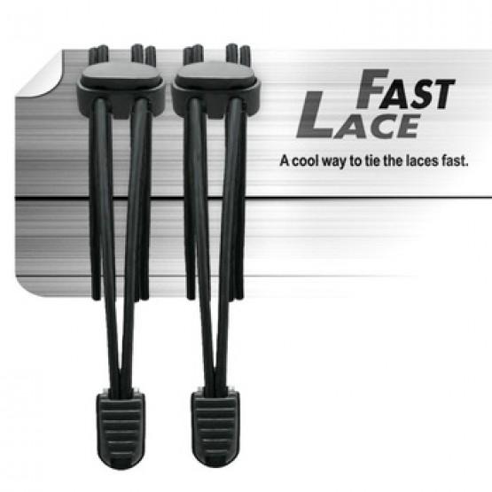 Шнурки Triathlon Fast Lase для бега и триатлона черные
