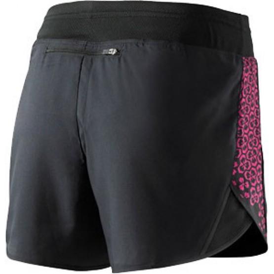 Шорты MIZUNO Drylite Square 4.0 черные/розовые женские