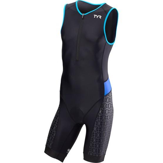 Стартовый костюм слитный / без рукавов TYR Men'S Competitor Padded Front Zip Tri Suit мужской