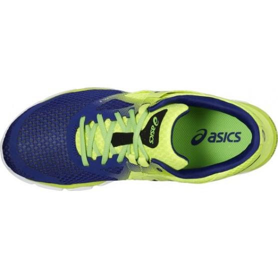 Кроссовки ASICS 33-Dfa желто-синие мужские