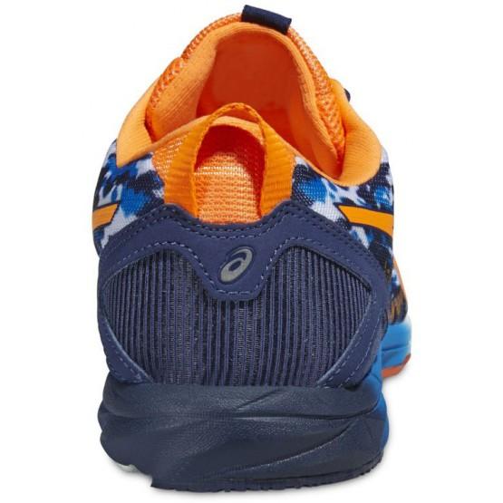 Кроссовки ASICS Gel-Hyper Tri сине-оранжевые мужские
