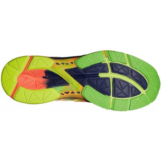 Кроссовки ASICS Gel-Noosa Tri 10 зелено-оранжевые мужские