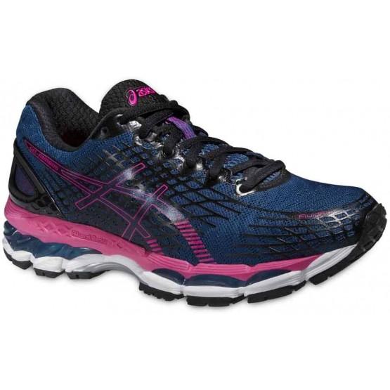 Кроссовки ASICS Gel-Nimbus 17 сине-розовые женские