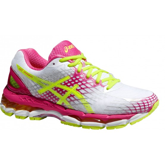 Кроссовки ASICS Gel-Nimbus 17 бело-розовые женские