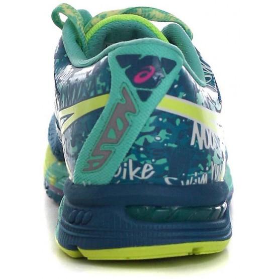 Кроссовки ASICS Gel-Noosa Tri 10 сине-зеленые женские