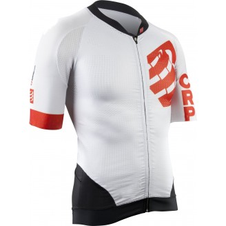 Джерси Compressport Cycling On/Off Maillot WHITE мужское