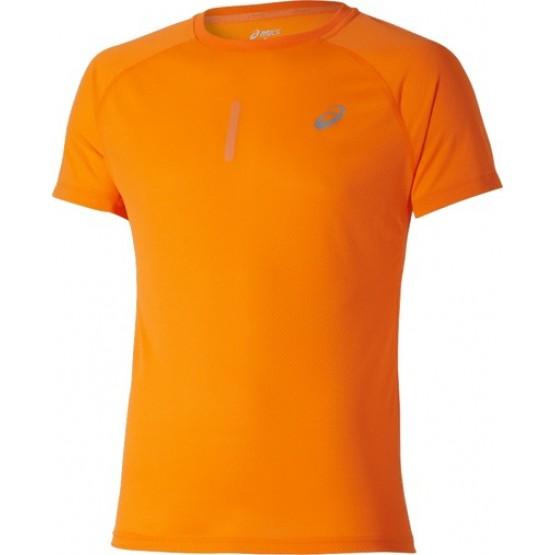 Футболка ASICS Short-Sleeve Top оранжевая мужская